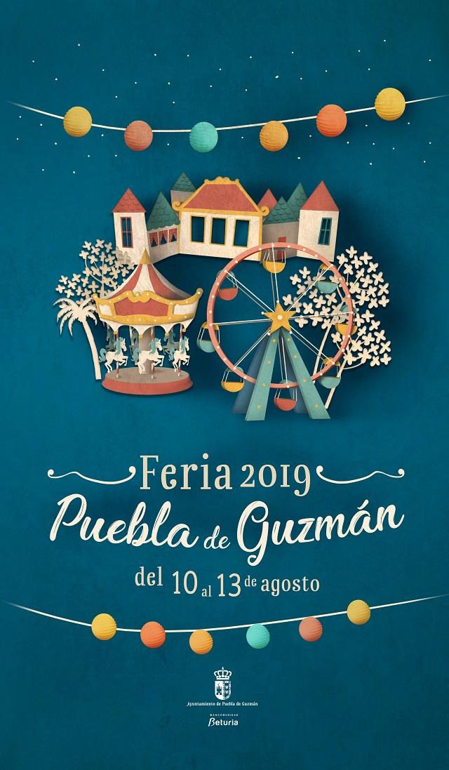 La feria de agosto en la Puebla de Guzmán tendrá lugar del 10 al 13 de agosto