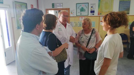 El centro de salud de Punta Umbría recupera la normalidad y mantiene toda su actividad