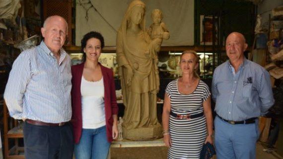 Palos de la Frontera construirá un nuevo monumento a su Patrona, la Virgen de los Milagros