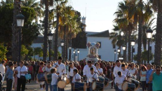 Palos de la Frontera celebra este mes las Fiestas y la Romería en honor a la Virgen de los Milagros