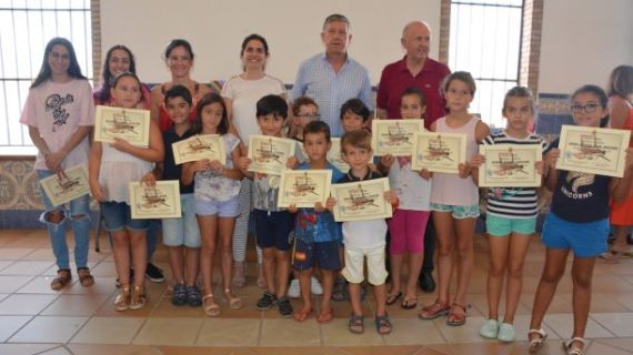 Finaliza el programa 'Una alternativa a tu verano' en Palos de la Frontera