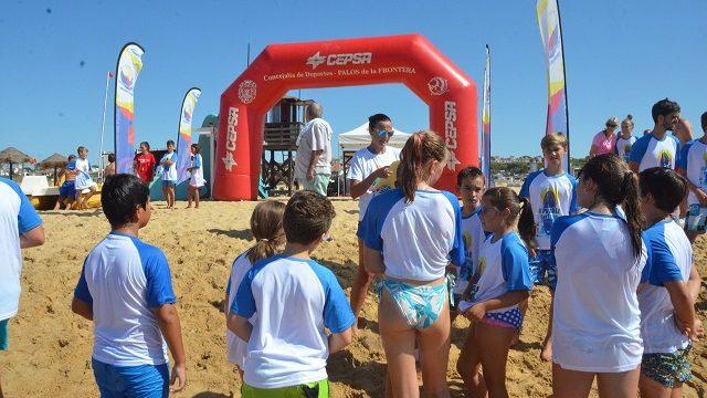 Palos de la Frontera y Mazagón han disfrutado de un fin de semana lleno de actividades deportivas