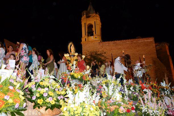 Palos celebra este sábado el Pregón Romero y la Ofrenda Floral en honor a la Virgen de los Milagros