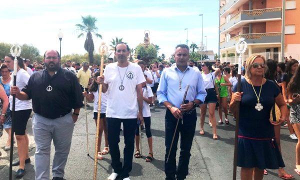 Culminan las fiestas en honor a la Virgen del Mar en Isla Cristina