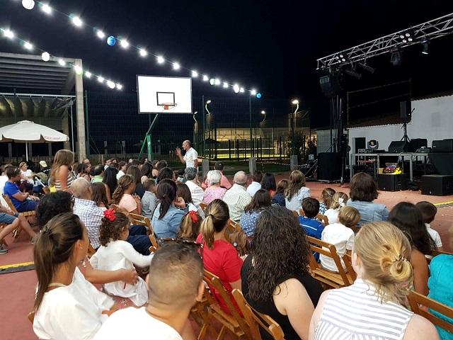 Berrocal acoge la obra de teatro 'Una Estrella Europea' organizada por el centro 'Europe Direct'
