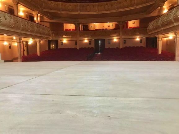 Reformas en el espacio escénico del Gran Teatro de Huelva