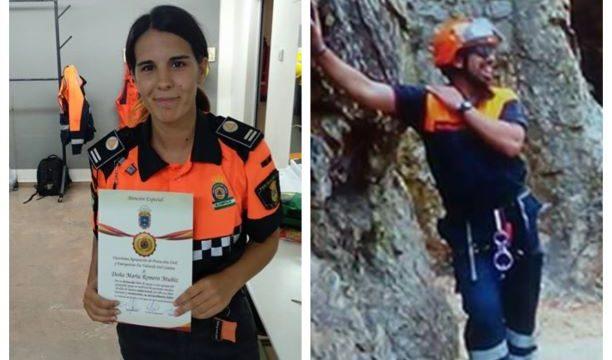 Valverde del Camino reconoce a María Romero y Luis Carlos Suárez por su labor como voluntarios de Protección Civil