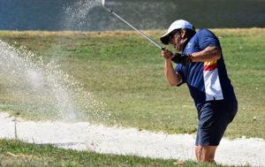 Buen nivel de juego, pese al viento en la jornada del domingo, en el torneo celebrado en Isla Canela. / Foto: J. L. Rúa.