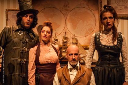 Teatrasmagoria presenta este miércoles la obra 'El extraño caso del Dr. Jekyll y Mr. Hyde' en Moguer