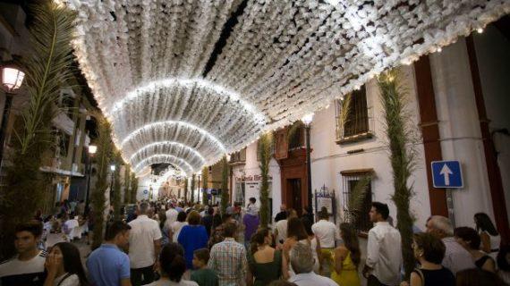 Todo listo en Almonte para llegada de la Virgen del Rocío al amanecer del próximo martes