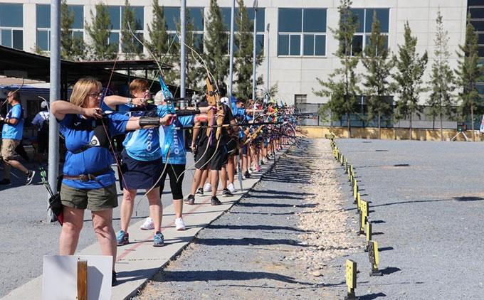Rotundo éxito del XVII Trofeo Colombino de tiro con arco con la participación de 240 arqueros
