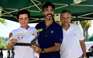 El joven ayamontino Kostka Horno Mateo fue el vencedor del torneo. / Foto: J. L. Rúa.
