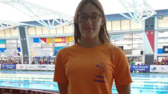 Laura Sánchez cierra una brillante temporada participando en el Campeonato de España Junior-Absoluto de Natación