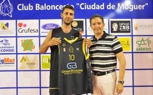 Mario Pacheco, nuevo jugador del Ciudad de Moguer de baloncesto.