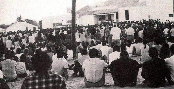 La misa en El Cerrito
