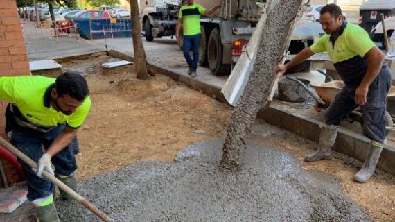 El Ayuntamiento ejecuta en julio 75 obras de mantenimiento en la ciudad