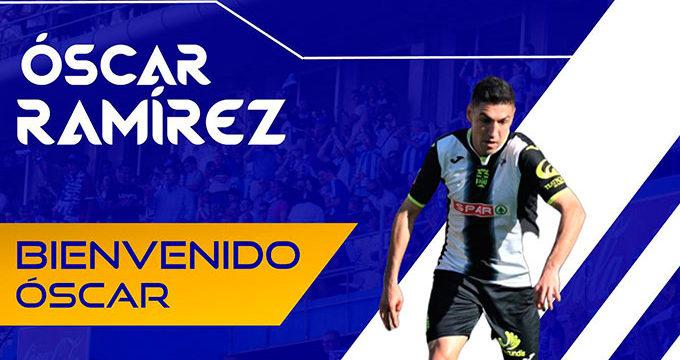 El Recreativo refuerza su defensa con la incorporación del lateral derecho Óscar Ramírez