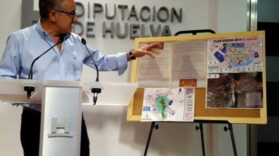 Almonte informa de lasmedidas de seguridad y circulación para la Venida de la Virgen en el Bando Municipal