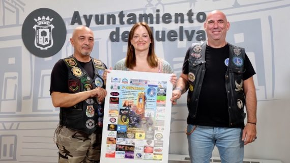El próximo sábado 7 de septiembre se celebra el V Aniversario del Grupo Motero 'Descubridores Huelva'
