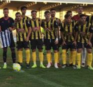 La falta de puntería condena al San Roque a la derrota en casa ante el Atlético Antoniano (1-2)