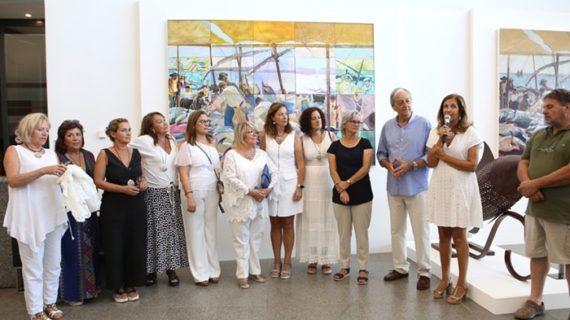 Las mujeres pintoras de Ayamonte exponen en la localidad portuguesa de Portimão