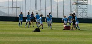 El Sporting de Huelva prosigue con su preparación para la Liga. / Foto:@sportinghuelva.
