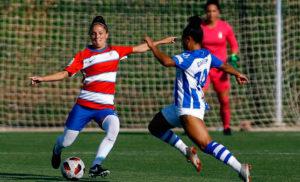 El Sporting sigue con su preparación en la pretemporada y este viernes jugó en Granada. / Foto: @GranadaFemenino.