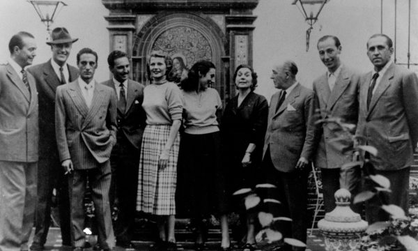 Cuando la estrella Rita Hayworth paseó por la calle Concepción