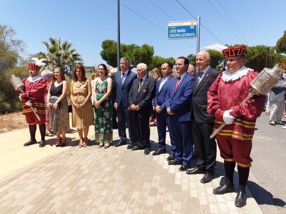 Palos de la Frontera dedica una avenida a José María Segovia en La Rábida