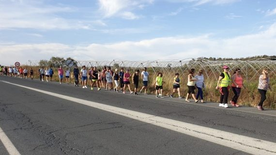 Vecinos de La Redondela realizan una actividad para ver la necesidad urgente de un Sendero Verde de conexión a la Playa