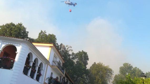 Controlado el incendio forestal de Almonaster la Real