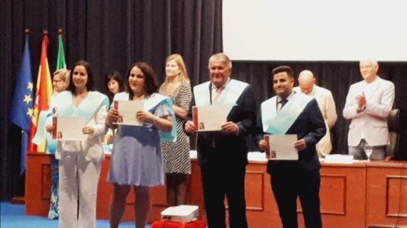 El almonteño Luis Faraco Roldán cumple su sueño de graduarse en Historia a los 60 años