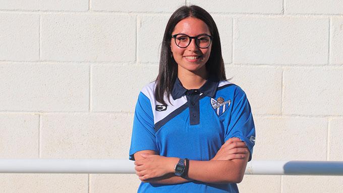 Marta Mojarro, la nueva fisioterapeuta del Sporting que iniciará la Liga en septiembre.