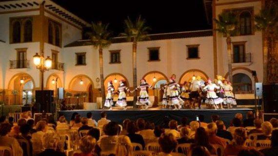 El Festival Internacional de Danzas de Villablanca se despide de Palos