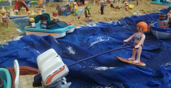 Punta Umbría acoge una nueva edición de la exposición 'Los mundos de Playmobil'