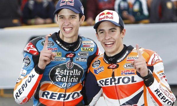 Márquez y sus 'hermanos'