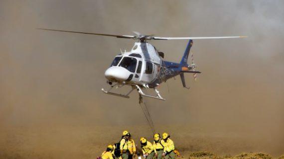 Controlado el incendio registrado este jueves en Isla Canela