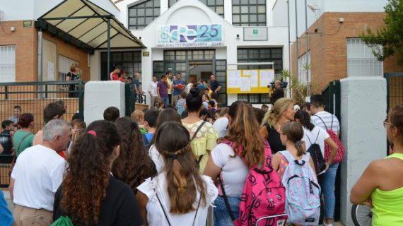 Un total de 56.289 estudiantes comienza las clases de Secundaria y Postobligatoria en Huelva