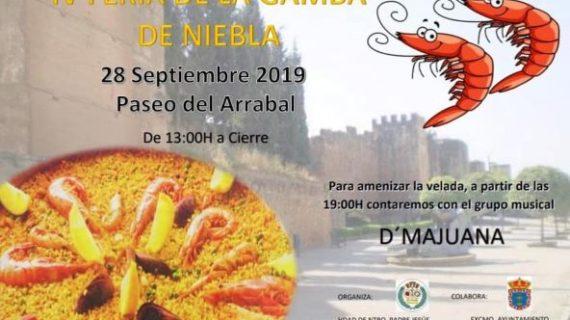 Niebla celebra este sábado su Feria de la Gamba