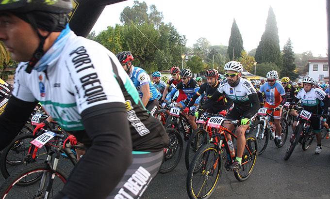 Minas de Riotinto espera con ganas la prueba ciclista del 26 de octubre. / Foto: Rafael López.