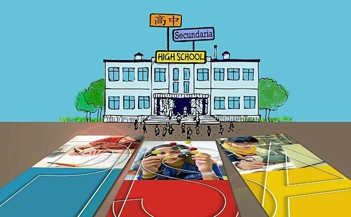 La ciudad contará con el primer Centro de Educación Infantil y Primaria del país pintado en tonos pasteles
