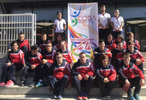 Los representantes del CODA Huelva, con ganas de comenzar una nueva temporada.