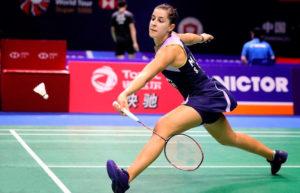 Carolina Marín ya está en las semifinales de Open de China de bádminton. / Foto; Badminton Photo.