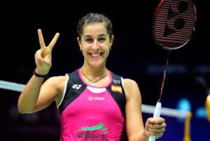 Carolina Marín derrotó a la tailandesa Pornpawee Chochuwong en el inicio del Open de Dinamarca.