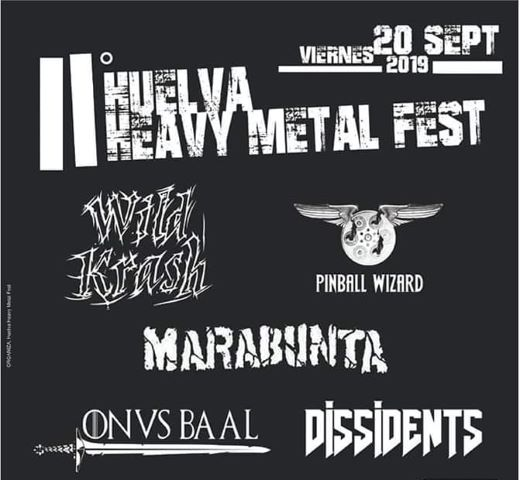 El 'II Huelva Heavy Metal Fest' se celebrará en las carpas de la Avenida de Andalucía debido a las previsiones de lluvia para mañana