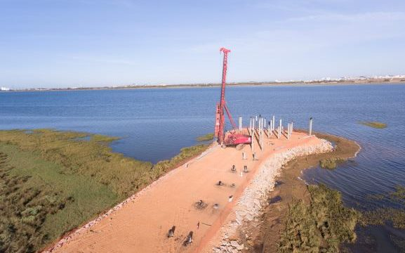 Comienzan las obras de restauración del histórico Muelle de la Calzadilla