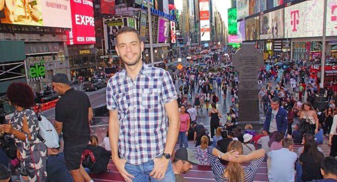 El moguereño Juan Jesús Gómez nos cuenta su experiencia como desarrollador web en el diario 'The Wall Street Journal' de Nueva York