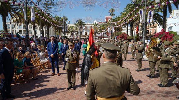 Ayamonte ha acogido la primera jura de bandera de personal civil de su historia