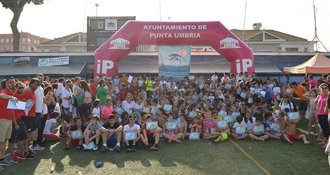 Siete disciplinas para menores y actividades de mantenimiento para adultos, en las Escuelas Deportivas Municipales de Punta Umbría