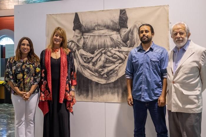 El arte y la agricultura tradicional se unen en la exposición 'Semillas y pensamiento'